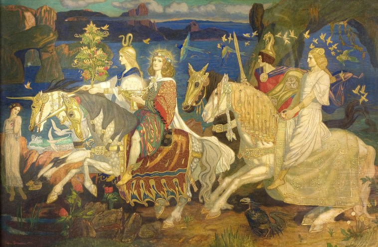 Riders of the Sidhe (John Duncan 1866–1945)